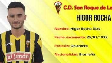 Higor Rocha autentico protagonista en el San Roque