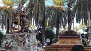 Histórico traslado de la Bella y de San Roque  a la ermita