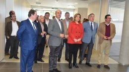Fátima Báñez, Ministra de Empleo y Seguridad Social, visita la nueva sede de la Seguridad Social en Lepe