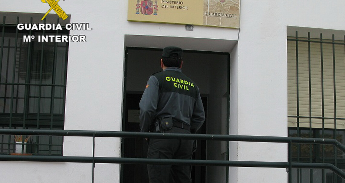 La Guardia Civil detiene a un ladrón en Cartaya
