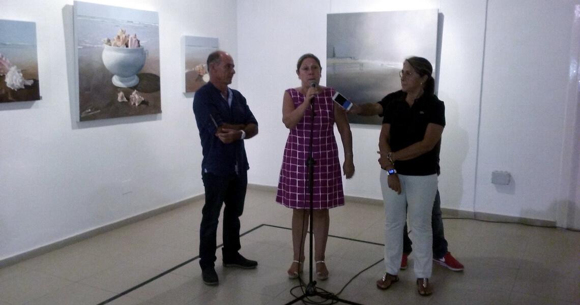 Expo pinturas Pedro Quesada