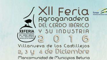 XII Feria Agroganadera del Cerdo Ibérico y su Industria de Villanueva De Los Castillejos
