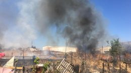 Incendio Las Moreras