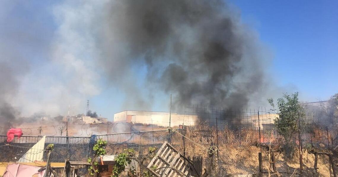 Conato de incendio en Las Moreras
