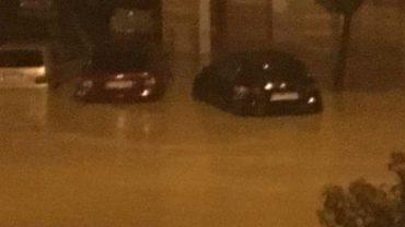 Inundaciones en Lepe