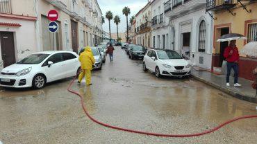 El Ayuntamiento trabaja en el restablecimiento de la normalidad tras las lluvias torrenciales de esta madrugada