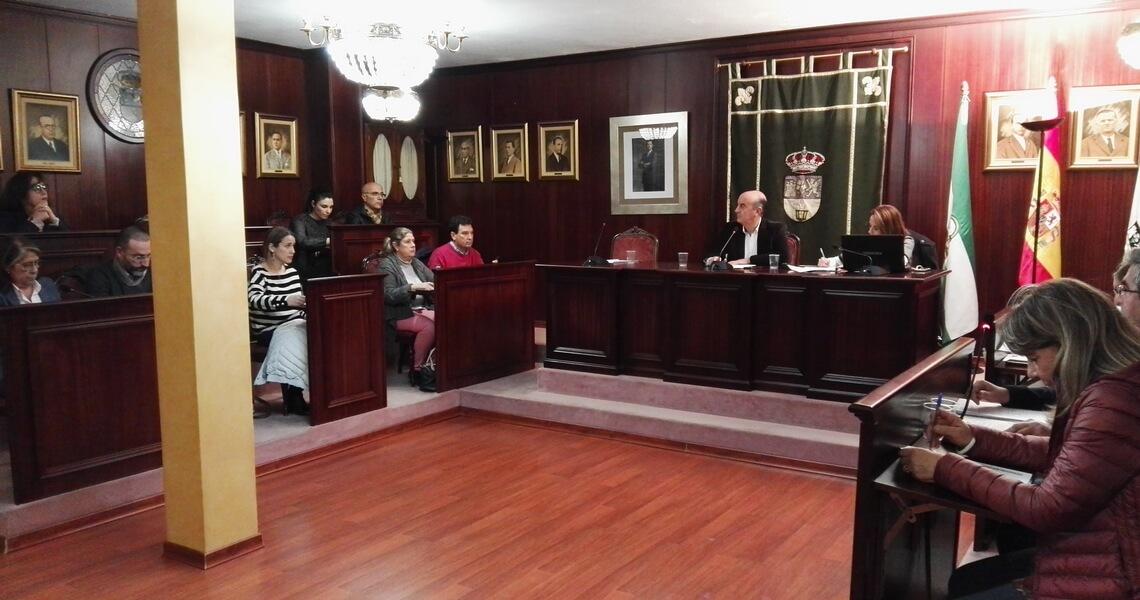 Sesión Plenaria de enero en el Ayuntamiento de Lepe