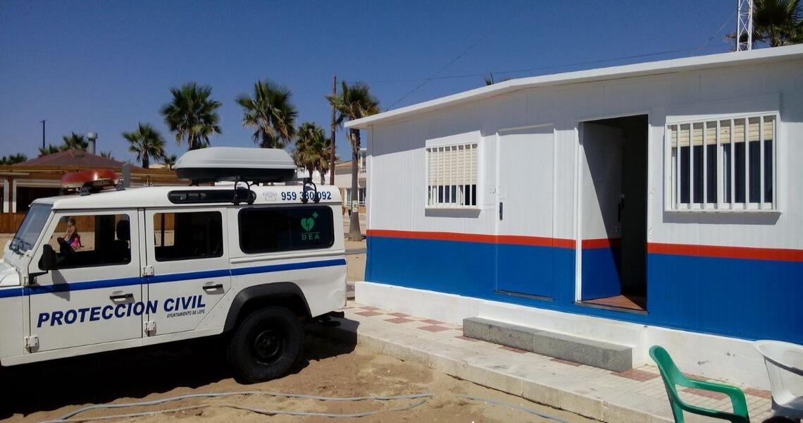 Salvamento Marítimo felicita a Protección Civil de Lepe