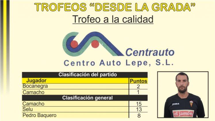 """Trofeo """"Centrauto"""" a la calidad"""
