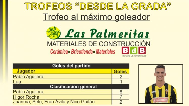 """Trofeo """"BdB Las Palmeritas"""" al máximo goleador"""