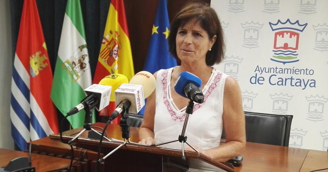 María Isabel Pérez valora el inicio del curso en Cartaya