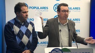 """El PP acusa al PSOE, Sí Se Puede e IU de """"traicionar"""" a Aljaraque para favorecer """"intereses personales"""""""