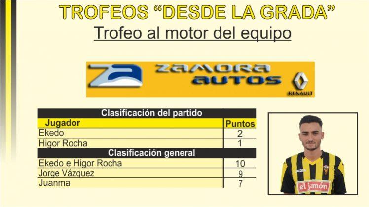 Trofeo Zamora Autos al motor del equipo