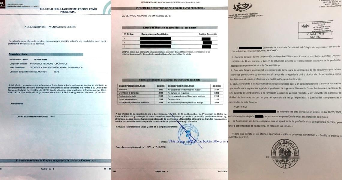 El Ayuntamiento de Lepe niega irregularidades en las contrataciones en los Planes de Empleo de la Junta