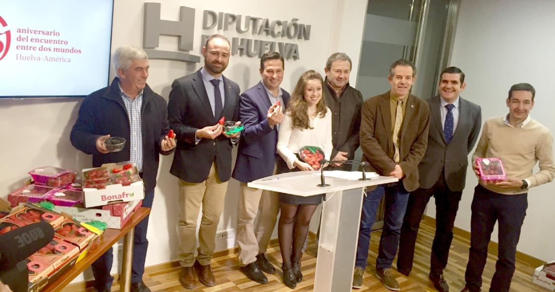 Los frutos rojos de la provincia de Huelva vuelven a brillar en Berlín con el apoyo de la Diputación