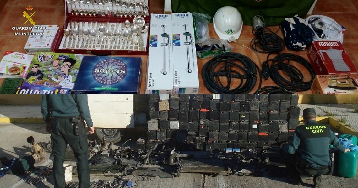 Dos detenidos por robo en La Palma del Condado y en El Campillo