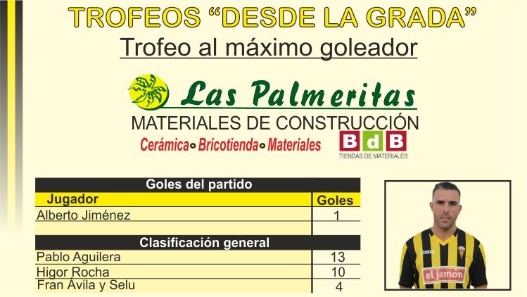 Trofeo BdB Las Palmeritas al máximo goleador