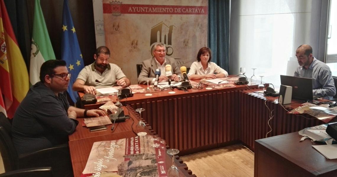 Cartaya celebra el 600 aniversario del Castillo con un año de actividades
