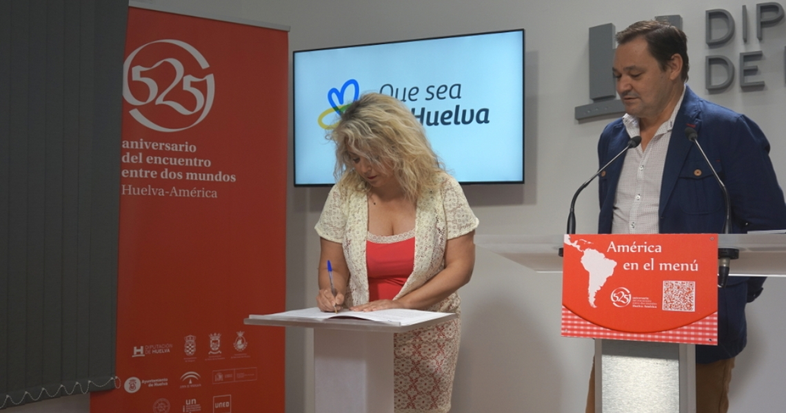 El 525 Aniversario trae a los restaurantes de la provincia recetas que fusionará la cocina de Huelva con América