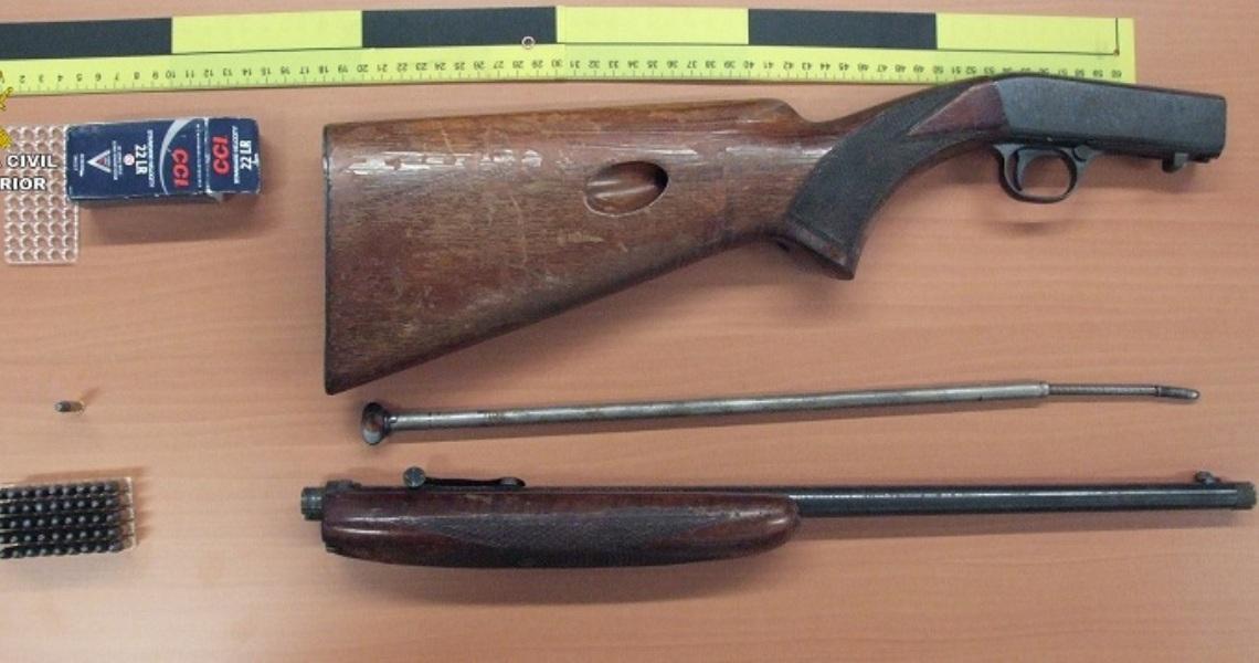 La Guardia Civil detiene a cuatro varones por un robo perpetrado en una finca de caza en Aracena