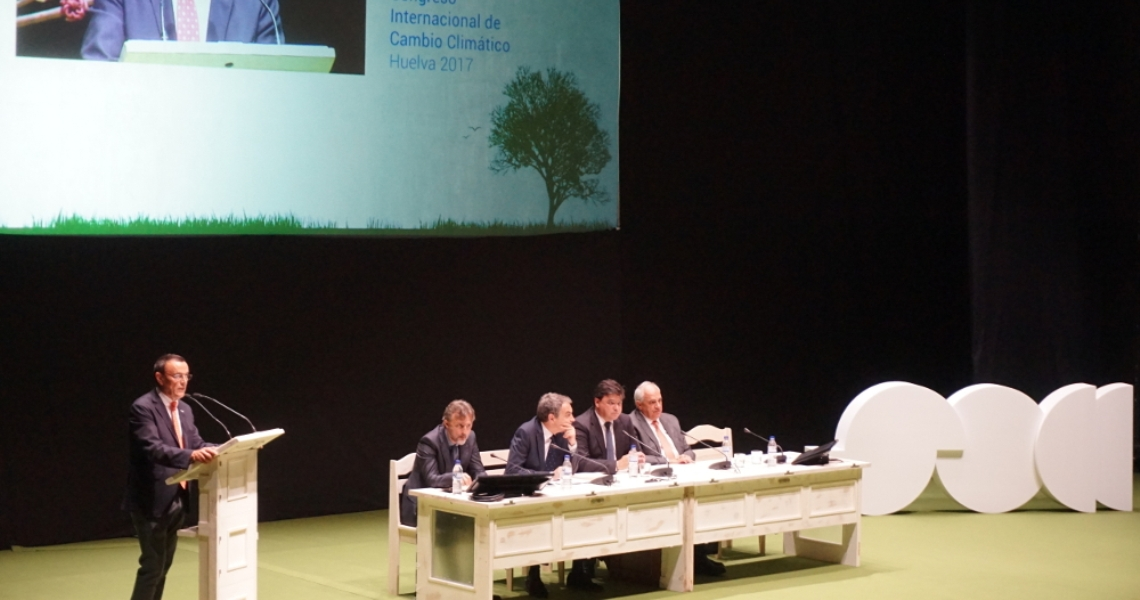 Diputación, Junta y Ayuntamiento abogan por una lucha contra el cambio climático que ponga en el centro del debate a las personas