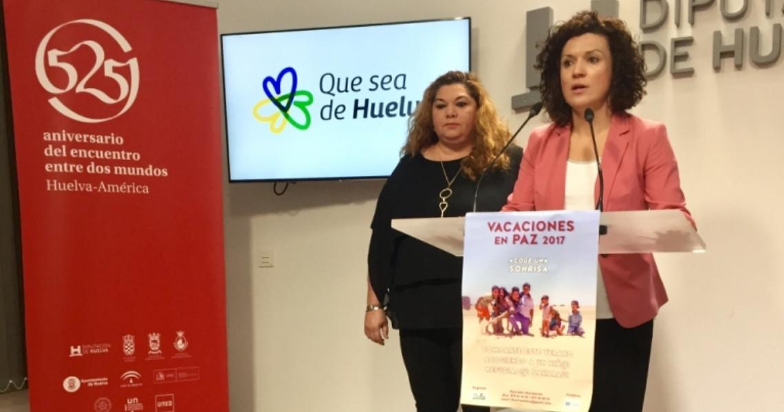 Vacaciones en Paz hace un llamamiento a las familias onubenses para acoger a más niños saharauis este año