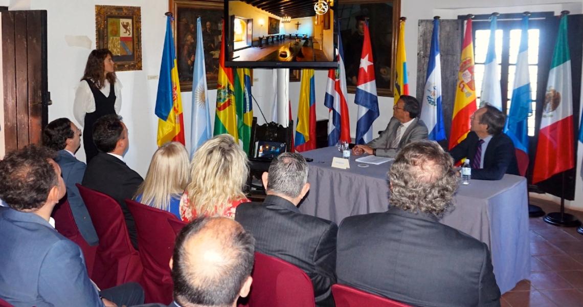 El 525 y la Comisión del Senado trabajarán juntos para que Huelva sea lugar de encuentro de los países iberoamericanos