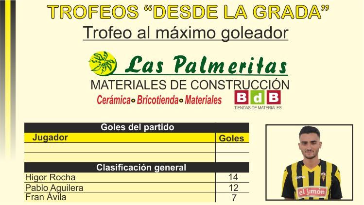 BdB Las Palmeritas Trofeo al máximo goleador