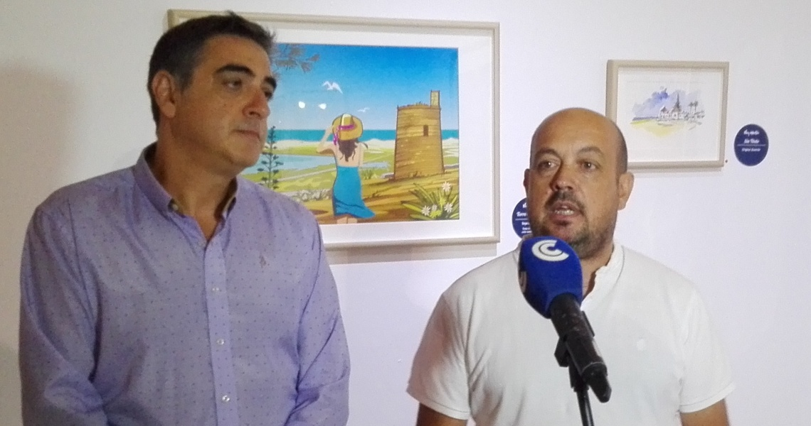 """El Centro Cultural Los Álamos presenta la exposición de ilustraciones de Eloy Martín """"Lugares Ilustrados"""""""