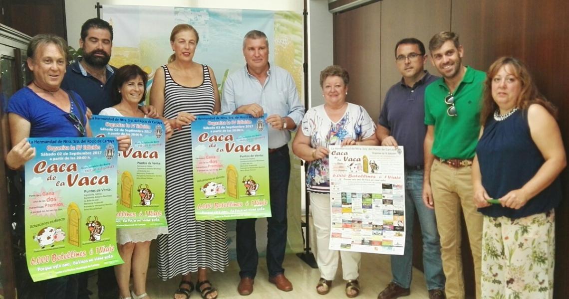 La IV Caca de la Vaca se celebrará el próximo 2 de septiembre en Cartaya