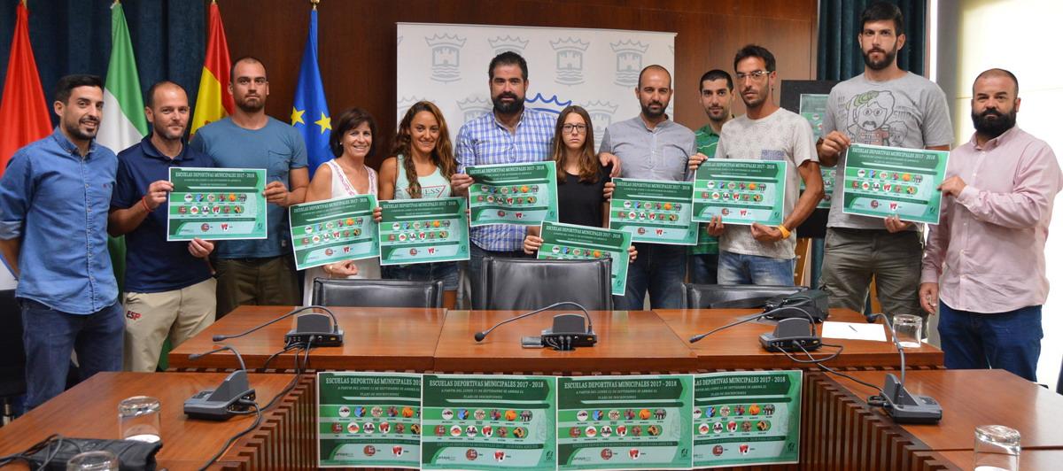 Cartaya presenta sus escuelas deportivas 2017/18