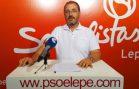 JUAN CARLOS LOPEZ PSOE LEPE
