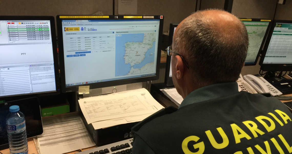 La Guardia Civil ha detenido in fraganti a dos varones que pretendían perpetrar un robo en un restaurante en Punta Umbría