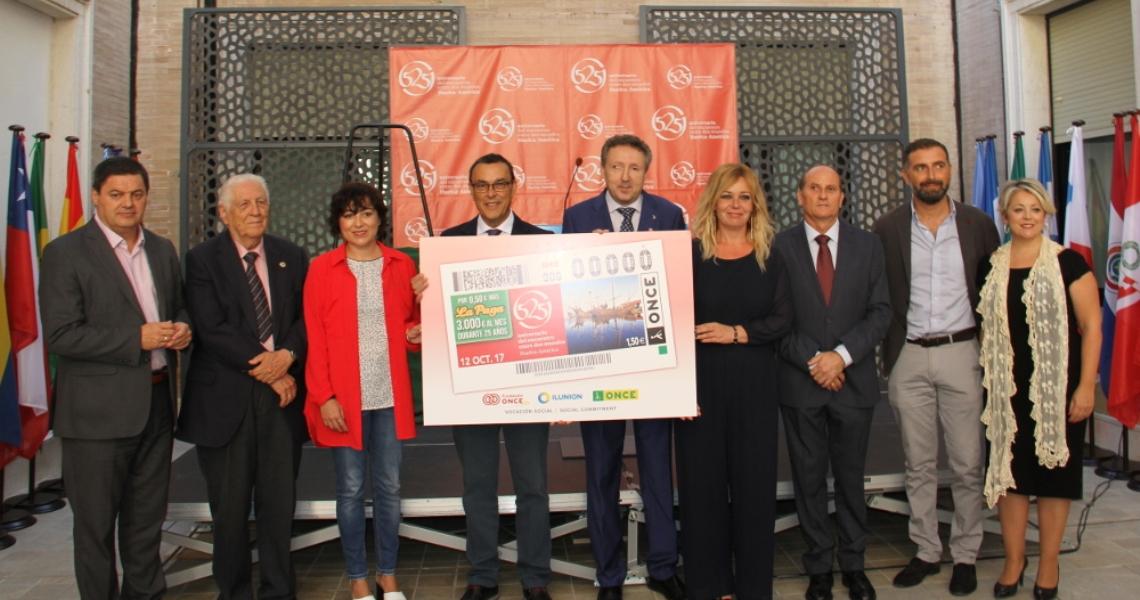 La ONCE dedica el cupón del Doce de Octubre al 525 Aniversario del Encuentro entre dos Mundos