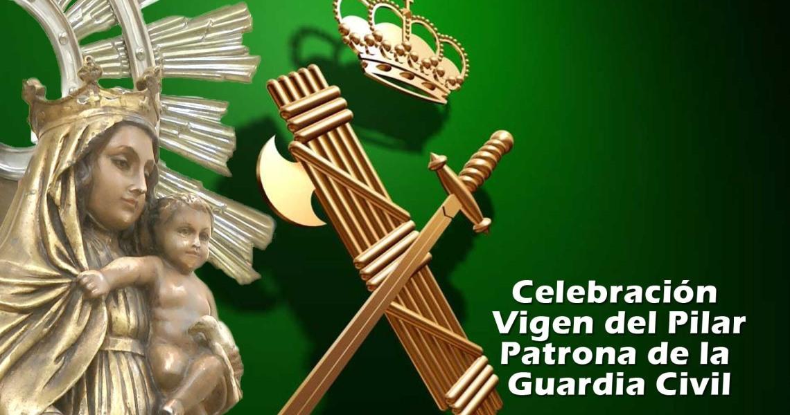 La Guardia Civil de Lepe celebrará el Día de la Hispanidad y de su Patrona, la Virgen del Pilar en la Plaza de España