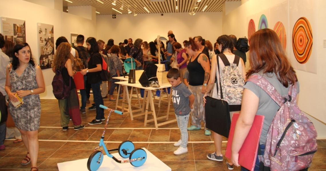 El alumnado de la León Ortega trae a la Sala de la Provincia sus creaciones con la exposición Panorama