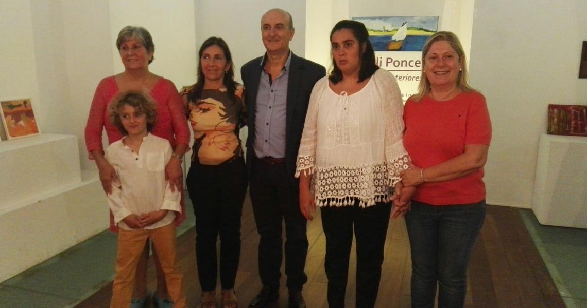 """La Capilla de San Cristobal acoge la exposición de pinturas """"Paisajes Interiores"""" de Lali Ponce"""