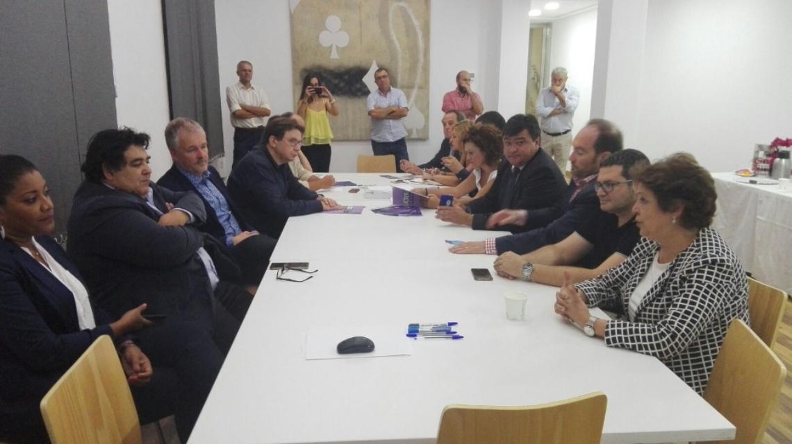 El Comité Ejecutivo del IV Foro Mundial del Desarrollo Económico Local cierra en Huelva los últimos acuerdos para la celebración de su IV edición en Cabo Verde