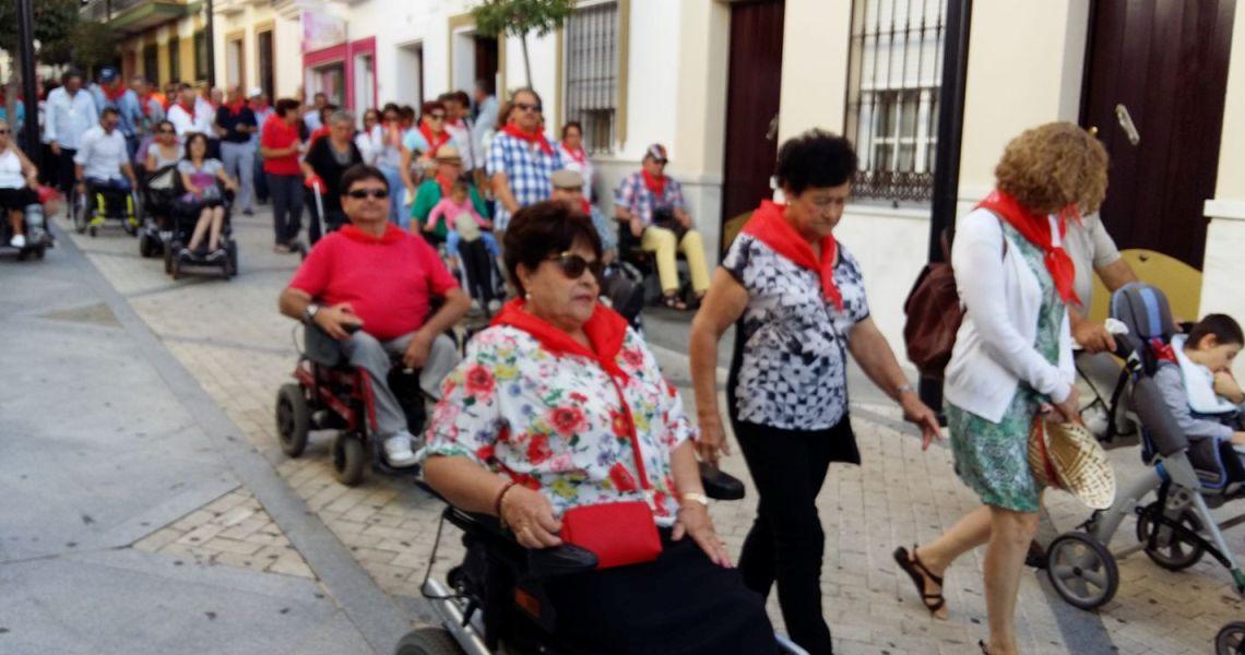 X Peregrinación en Silla de Ruedas y Andando a la Ermita de la Bella de ADIFLE