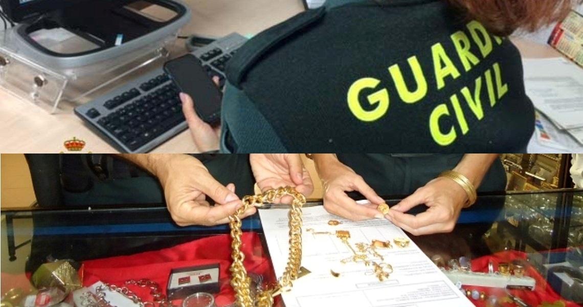 La Guardia Civil ha procedido a la detención de un varón por el robo en una vivienda en la localidad de Isla Cristina