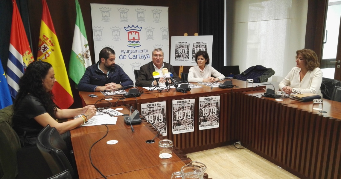 Cartaya homenajeará a la corporación municipal de 1979