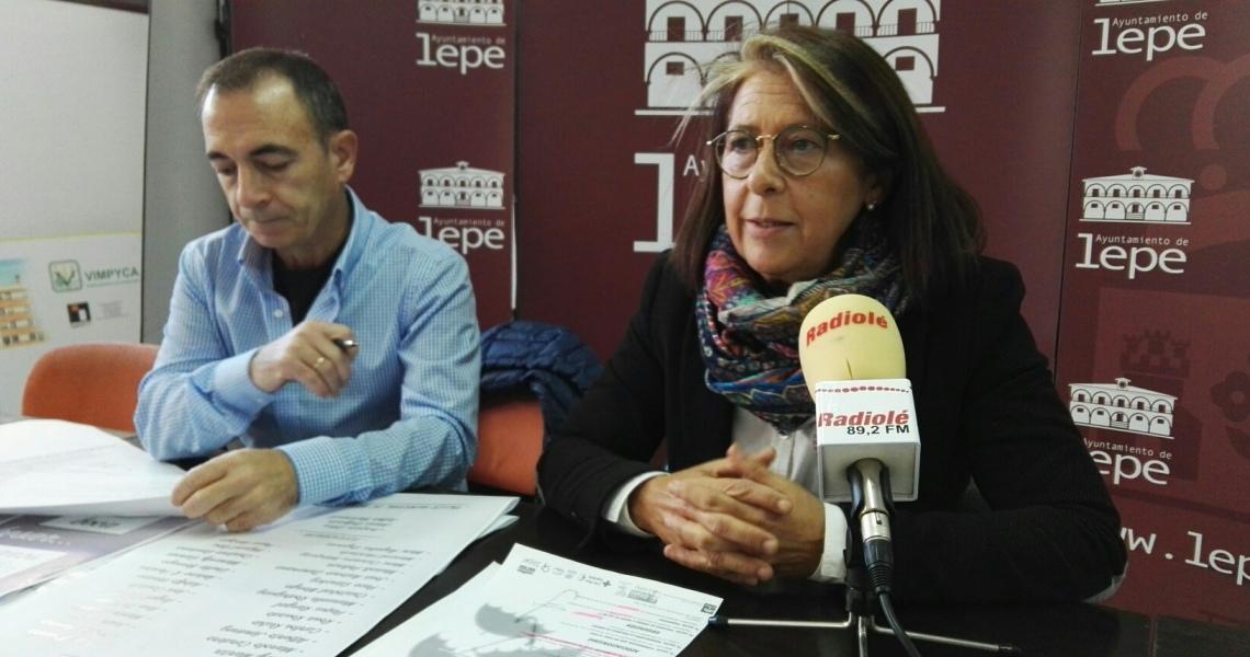 El Ayuntamiento de Lepe presenta el programa de actos conmemorativos del Día Internacional contra la Violencia de Género 25 de noviembre de 2017