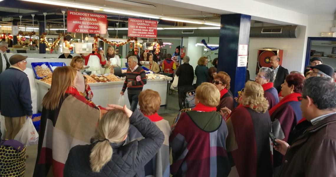 El Mercado de Abasto de Lepe sortea una cesta de productos frescos valorada en 400€