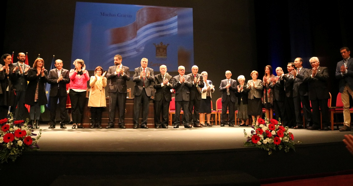 Cartaya rinde homenaje a la primera Corporación Democrática municipal