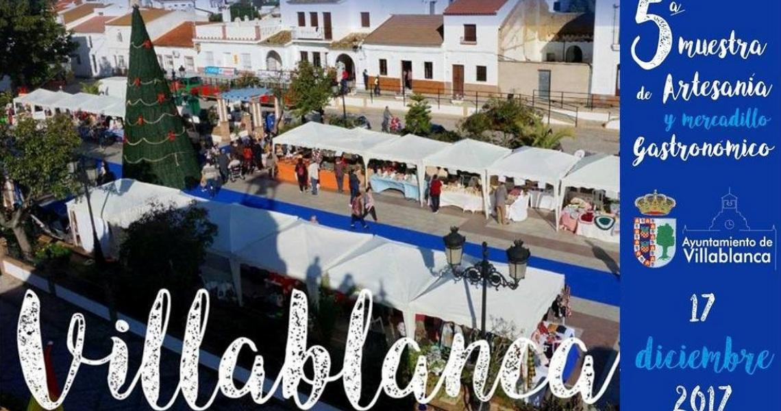Villablanca celebra su V Muestra de Artesanía y Mercadillo Gastronómico