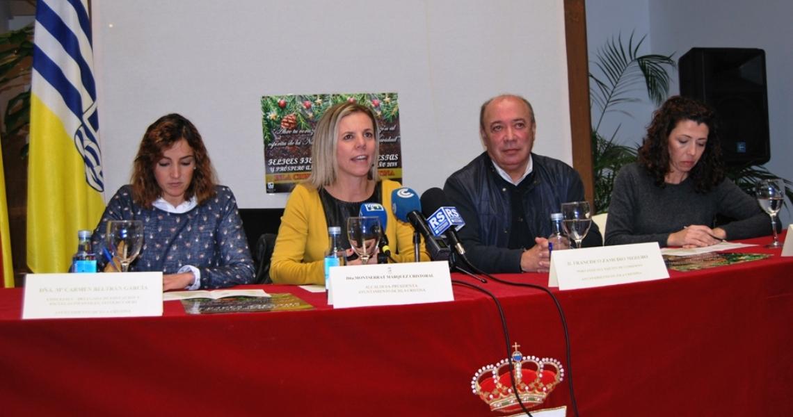 Isla Cristina presenta se programación navideña