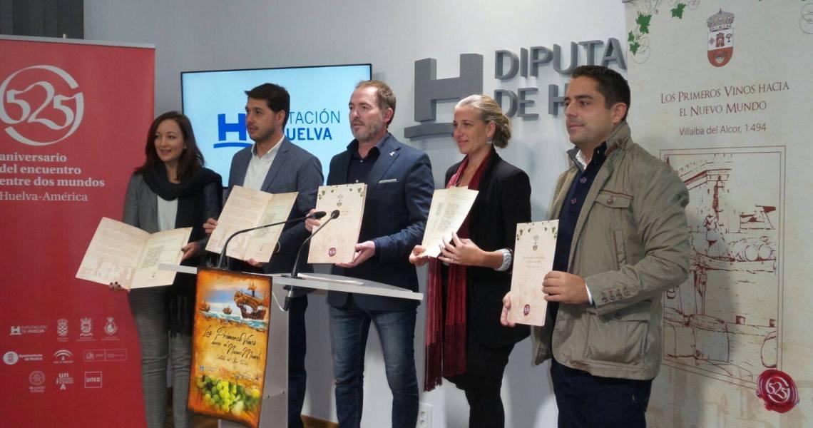 Villalba del Alcor recupera documentos que confirman que sus vinos fueron los primeros en llegar al Nuevo Mundo