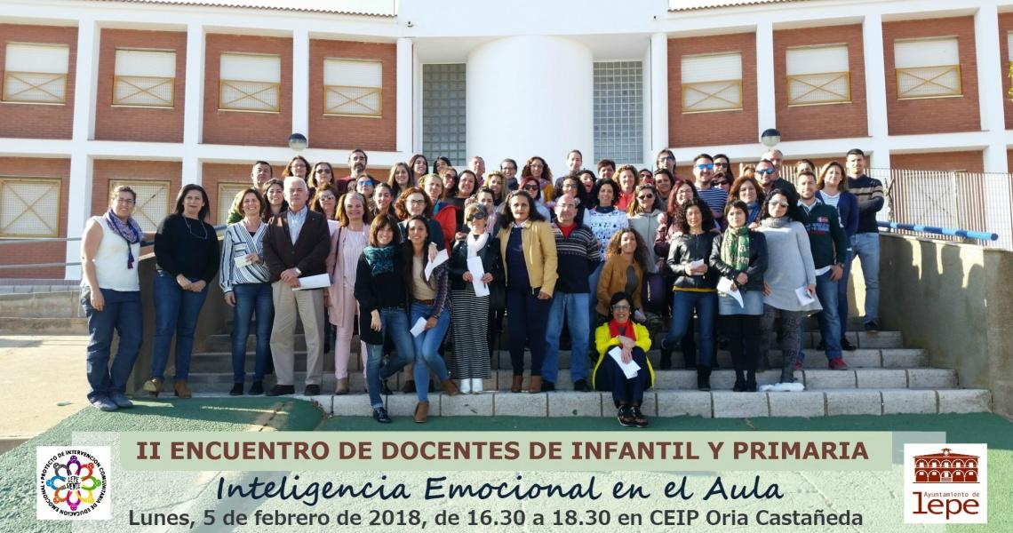 Lepe Siente organiza el II Encuentro de Docentes de Infantil y Primaria