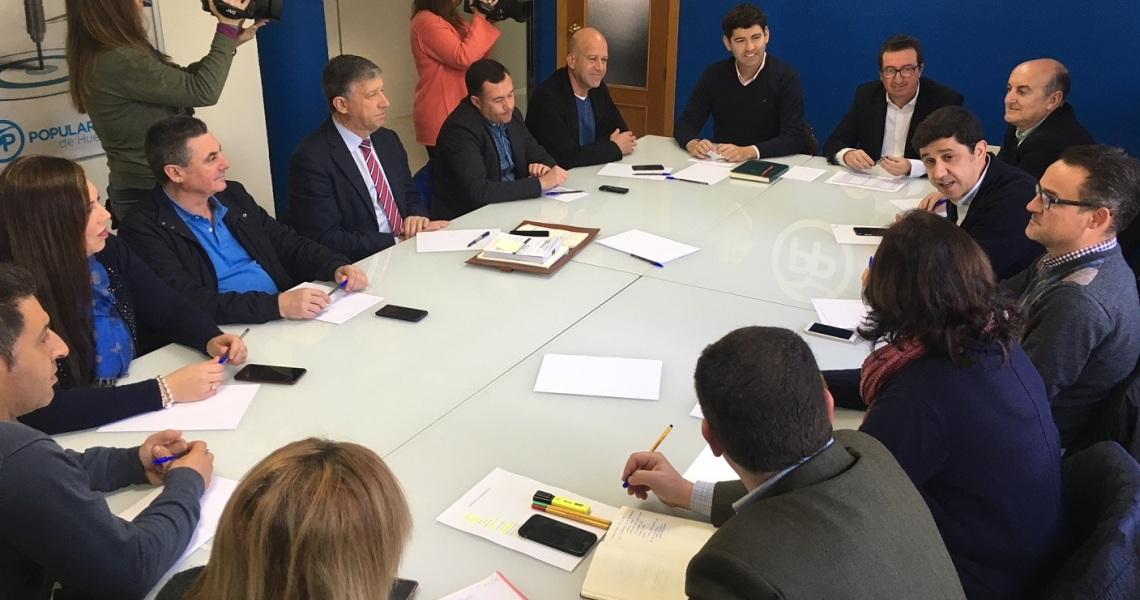 El PP emplaza a Caraballo y Cruz a aprovechar la visita de Susana Díaz para reclamar los proyectos pendientes de la Junta en Huelva