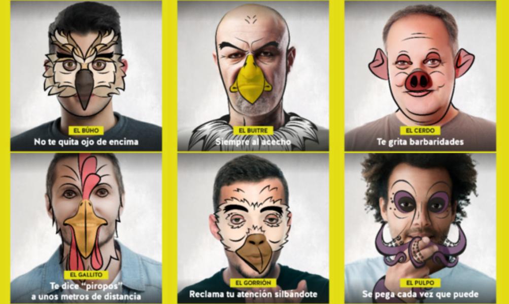 #NoSeasAnimal, campaña para prevenir el acoso callejero